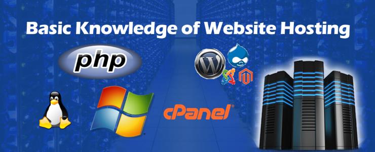 Basic Knowledge of Website Hosting