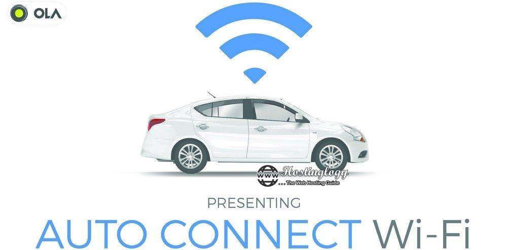 Free 'Auto-Connect Wi-Fi' to Access Internet on OLA Cab