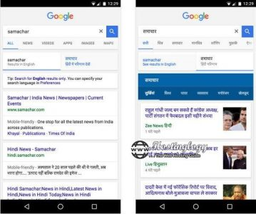 Google Search Now Offers English & Hindi Result Pages Tabs