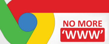 Google Chrome Kills Off WWW In URLs