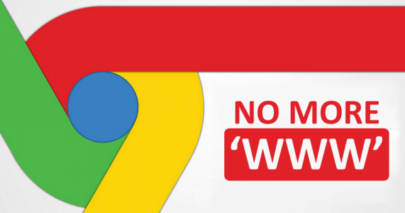 Google Chrome Kills Off WWW In URLs