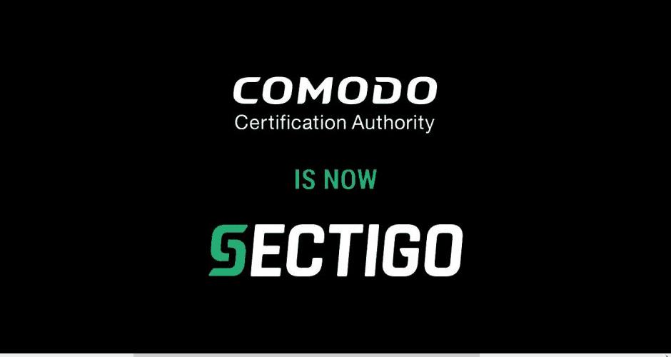 Comodo CA is Now Sectigo