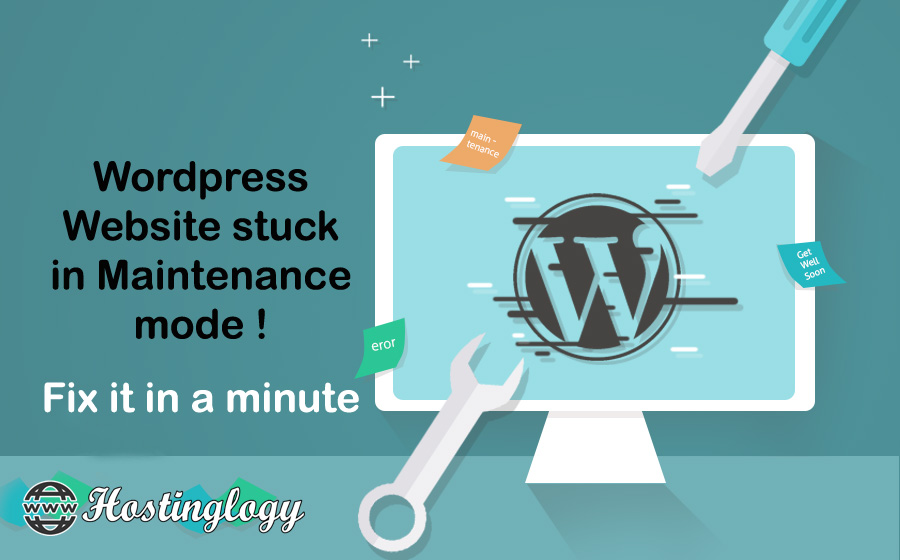 Wordpress Website stuck in Maintenance mode ! Fix it in a minute