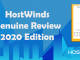HostWinds Genuine Review 2020 Edition