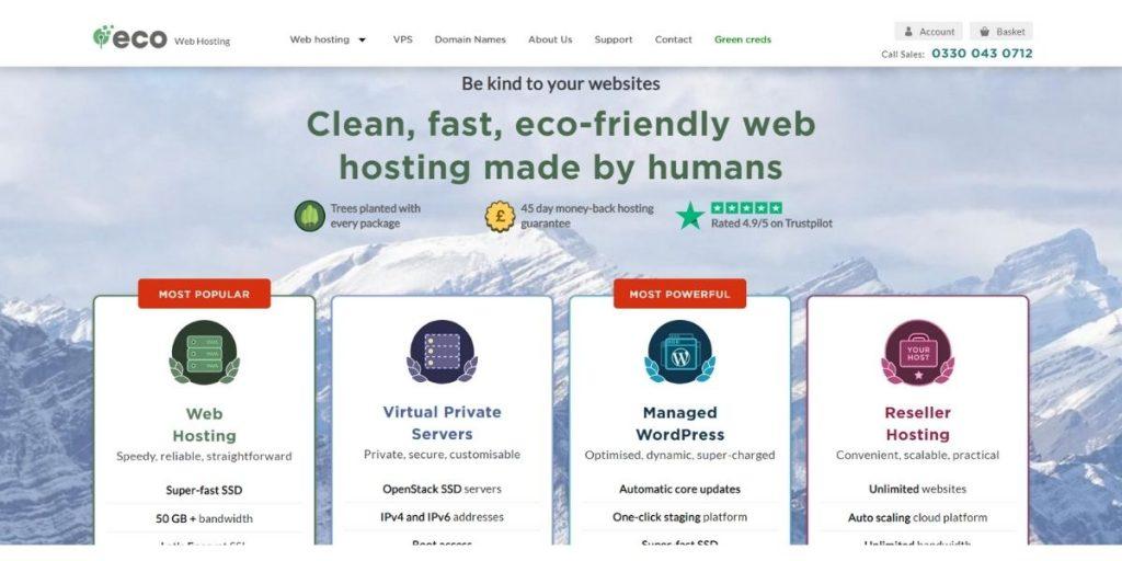 Eco Web Hosting UK