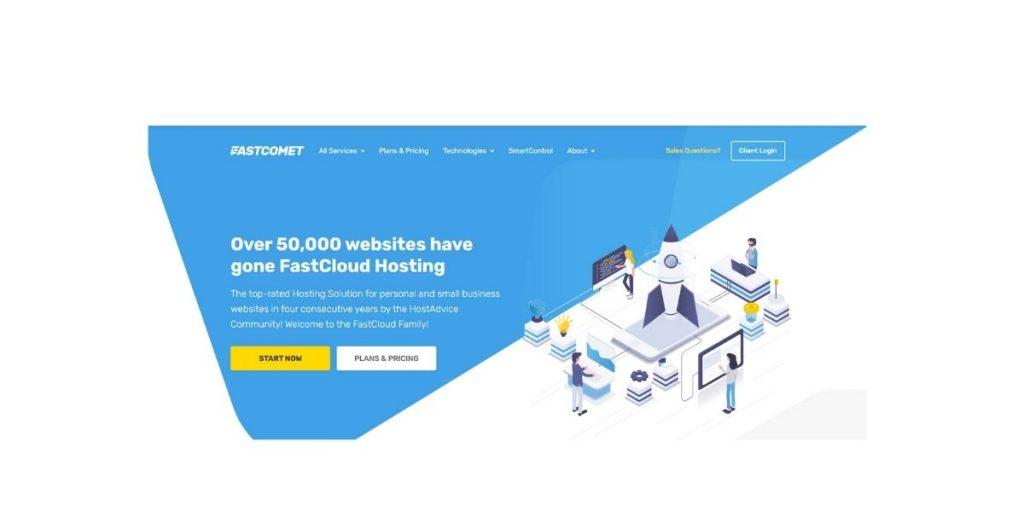 FastComet cheap web hosting Australia