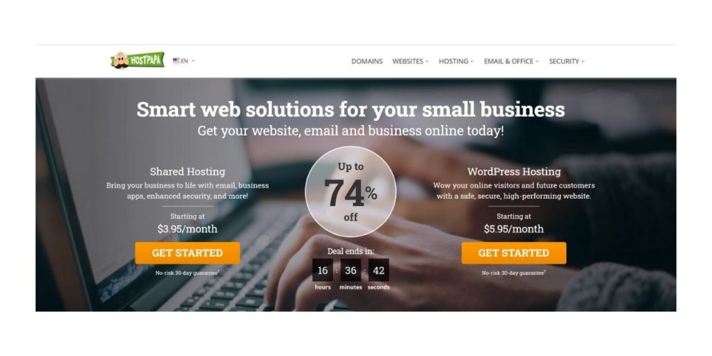 HostPapa cheap web hosting Australia