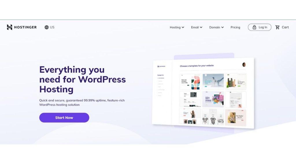 Hostinger WordPress Hosting in India