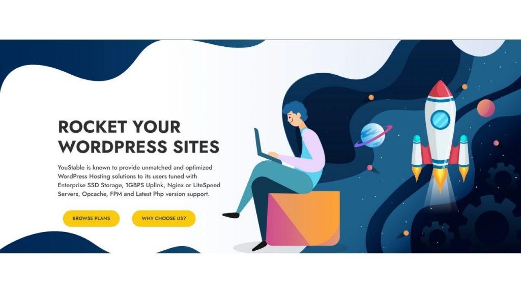 YouStable WprdPress Hosting
