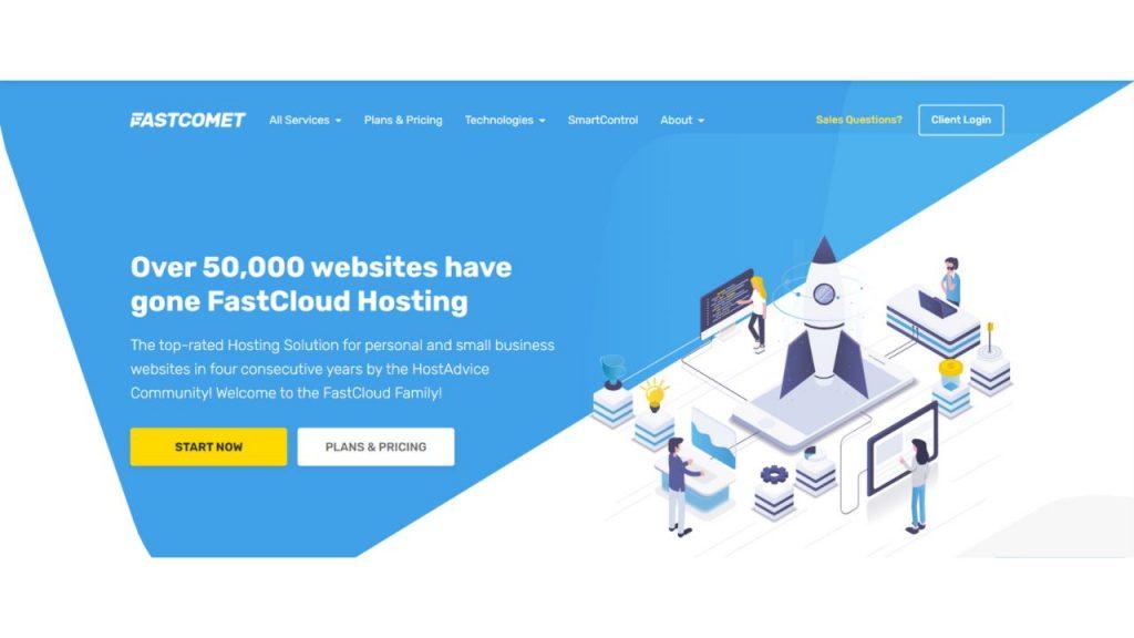 Fast Comet Best Web hosting in Bangladesh