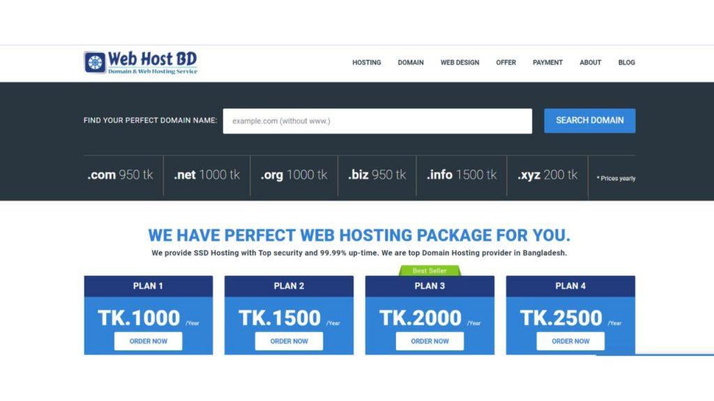 WebHost BD Best hosting in Bangladesh