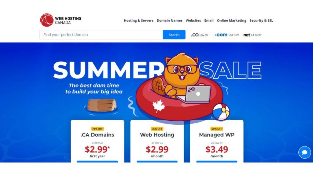 WebHosting Canada Best Web Hosting Canada