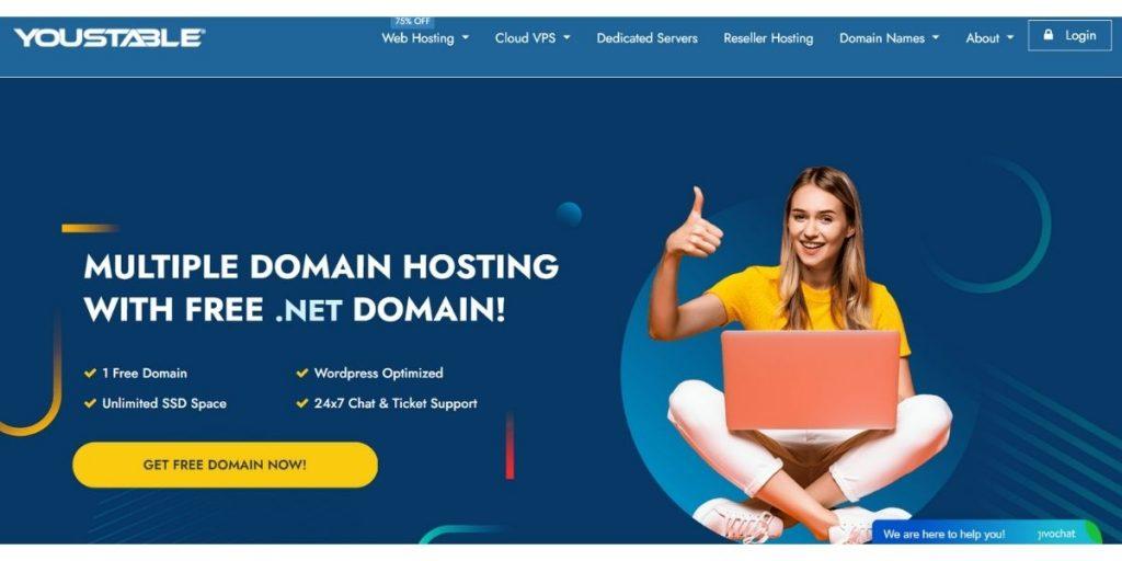 YouStable Web Hosting- best web hosting in bangladesh