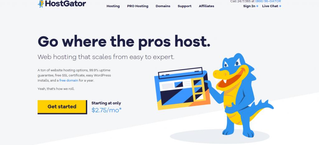 Hostgator best France web hosting