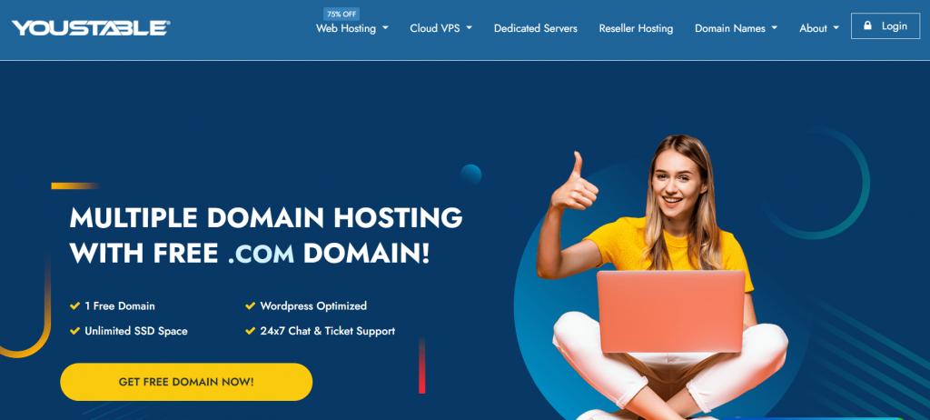 YouStable Best Web Hosting Germany
