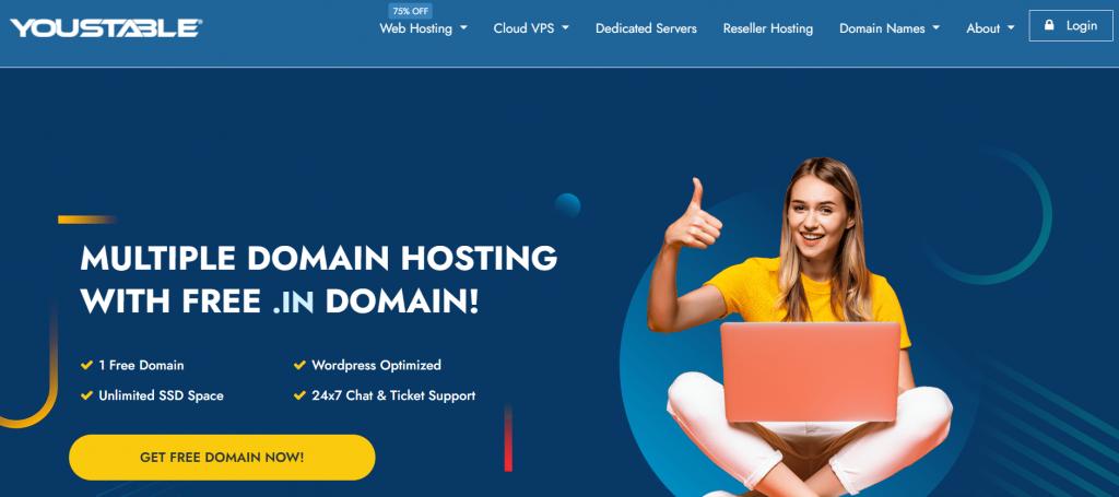 YouStable France web hosting