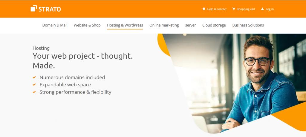 Strato web hosting Germany
