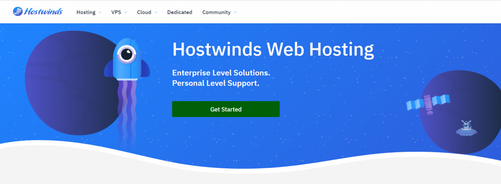 Hostwinds web hosting in Spain
