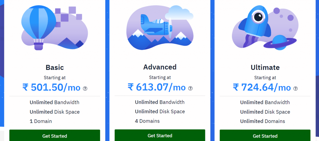 Hostwinds price and plans web hosting
