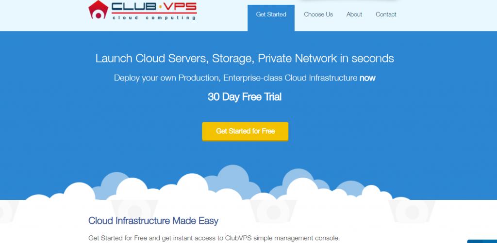 ClubVPS cloud hosting in India