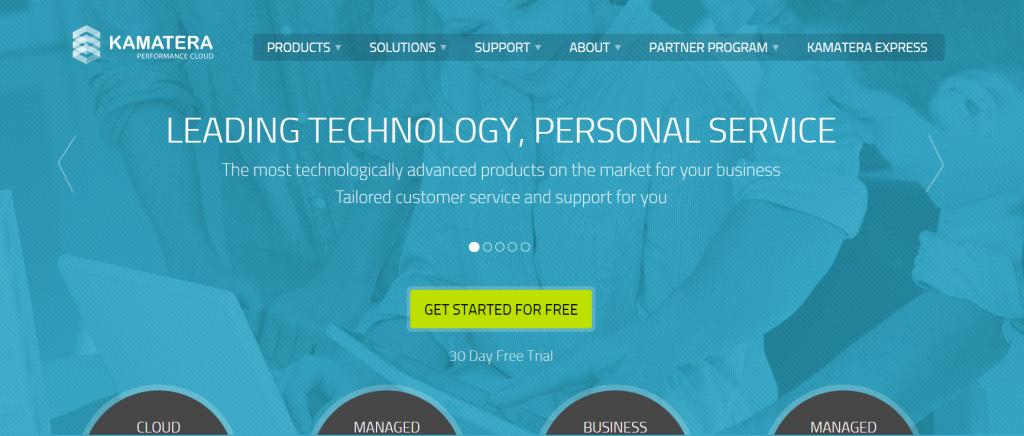 Kamatera cloud hosting provider